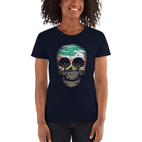 Skull Nature Women's short sleeve t-shirt
