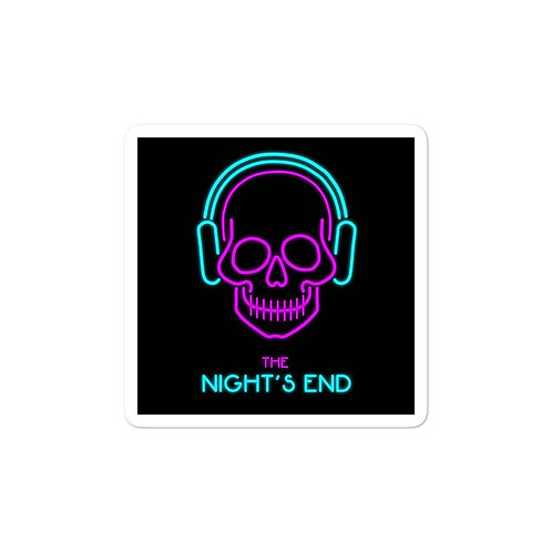 The Night's End sticker