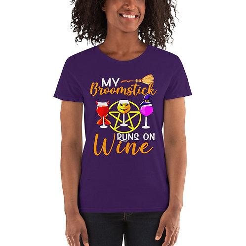 Broomstick Wine Women's short sleeve t-shirt