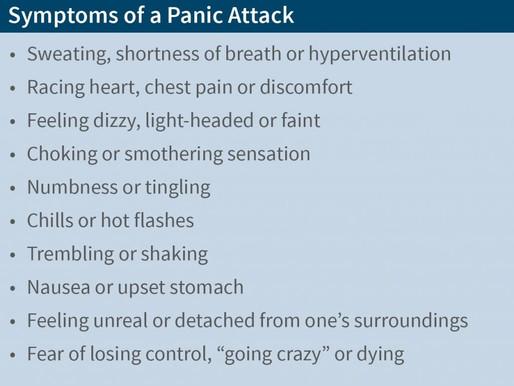 Panikattack- Tips på hur du kan agera