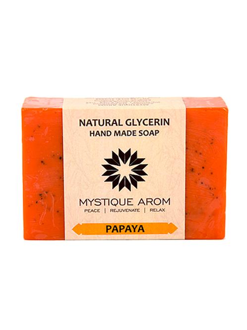 Papaya - Natural Glycerin Handmade Soap  100 gm