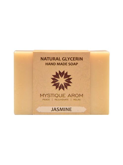 Jasmine - Natural Glycerin Handmade Soap  100 gm