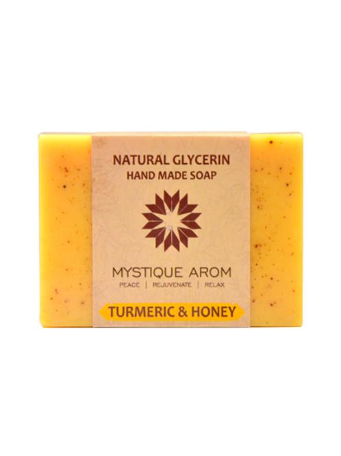 Turmeric & Honey - Natural Glycerin Handmade Soap   100 gm