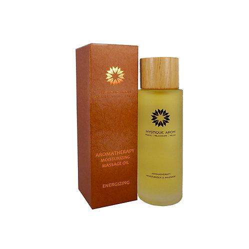 Energizing - Premium Aromatherapy Moisturizing Massage Oil  100 ml