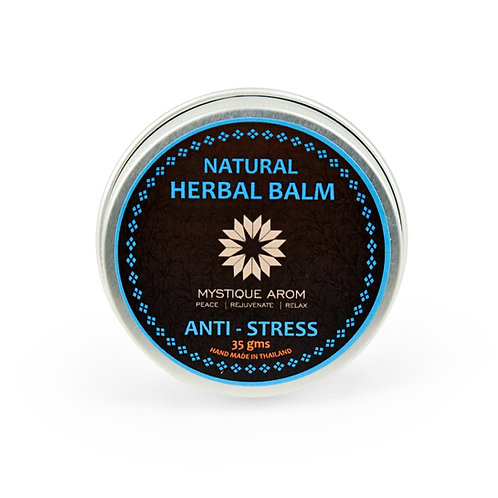Anti Stress - Herbal Solid Balm   35 gm