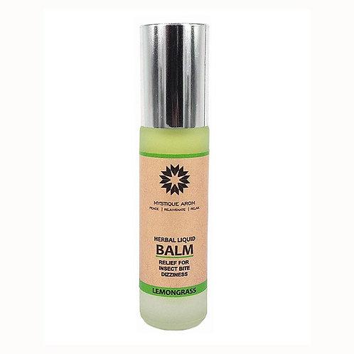 Lemongrass - Natural Herbal Liquid Balm    8 ml