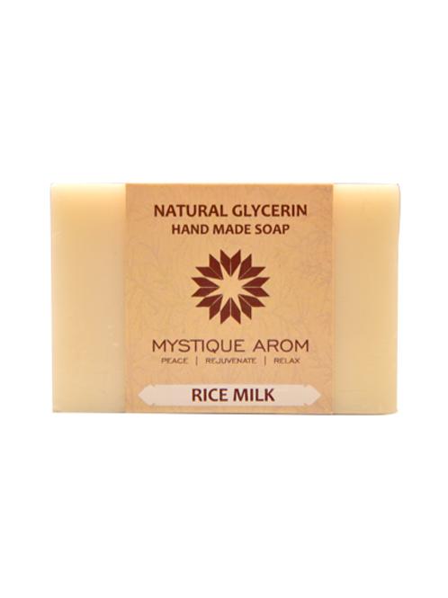 Rice Milk - Natural Glycerin Handmade Soap  100 gm
