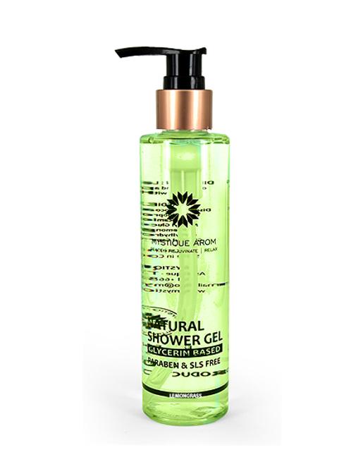 Lemongrass - Natural Shower Gel  180 ml