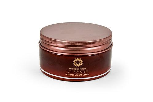 Coconut - Natural Cream Body Scrub     200 gm