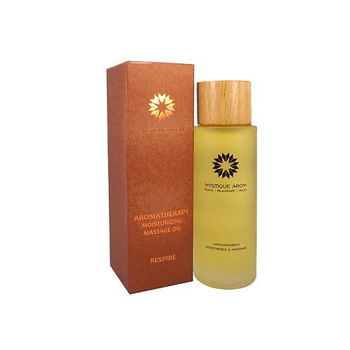Respire - Premium Aromatherapy Moisturizing Massage Oil  100 ml
