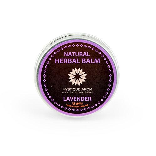 Lavender - Natural Herbal Solid Balm    35 gm