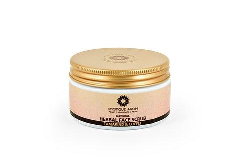 Tamarind & Coffee - Natural Herbal Face Scrub  100 gm