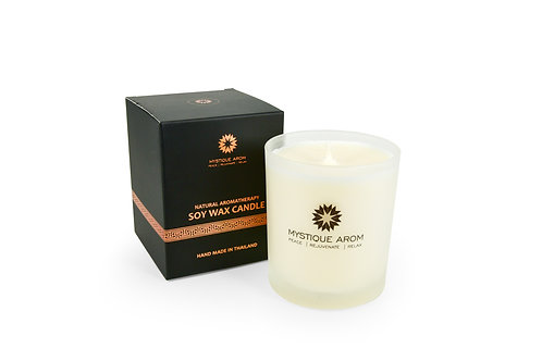 Jasmine - Natural Aromatherapy Soy Wax Candle   100 gm