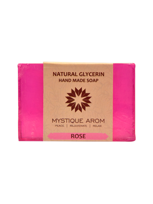 Rose - Natural Glycerin Handmade Soap  100 gm