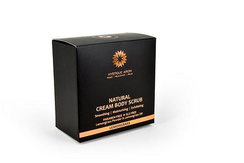 Lemongrass - Natural Cream Body Scrub   200 gm