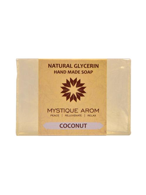Coconut - Natural Glycerin Handmade Soap  100 gm