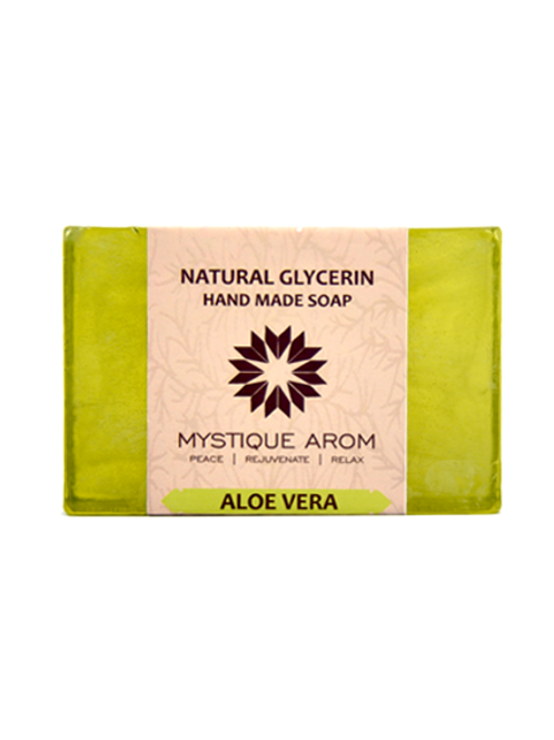 Aloe Vera - Natural Glycerin Handmade Soap  100 gm
