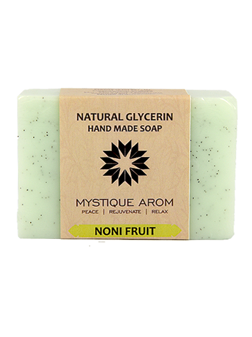Noni Fruit - Natural Glycerin Handmade Soap  100 gm