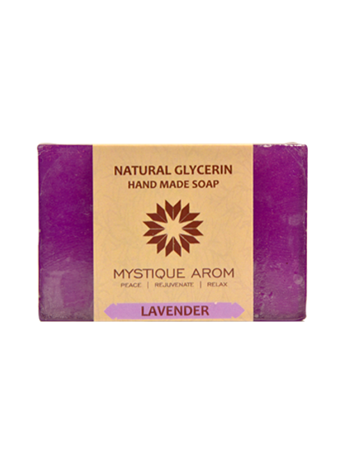 Lavender - Natural Glycerin Handmade Soap  100 gm