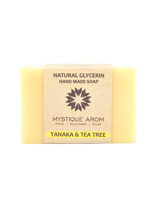 Thanaka & Tea Tree - Natural Glycerin Handmade Soap  100 gm