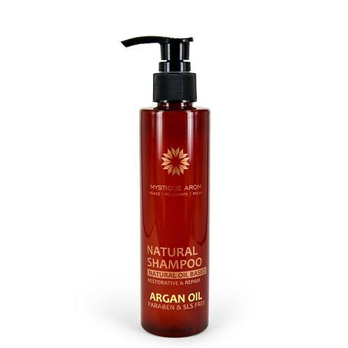 Argan Oil - Natural Shampoo Oil Based    180 ml