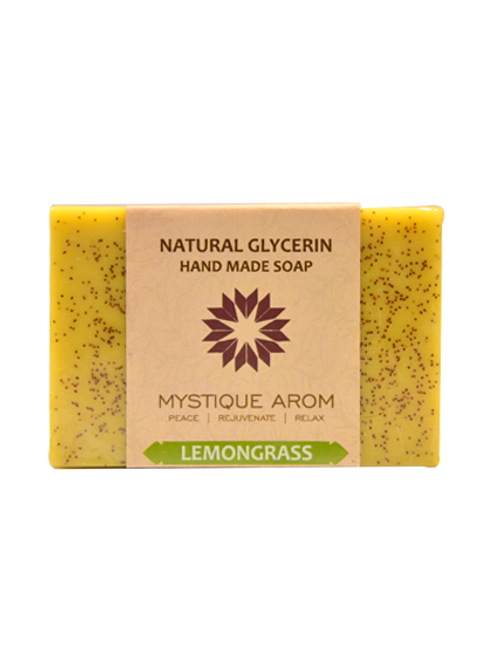 Lemongrass - Natural Glycerin Handmade Soap  100 gm