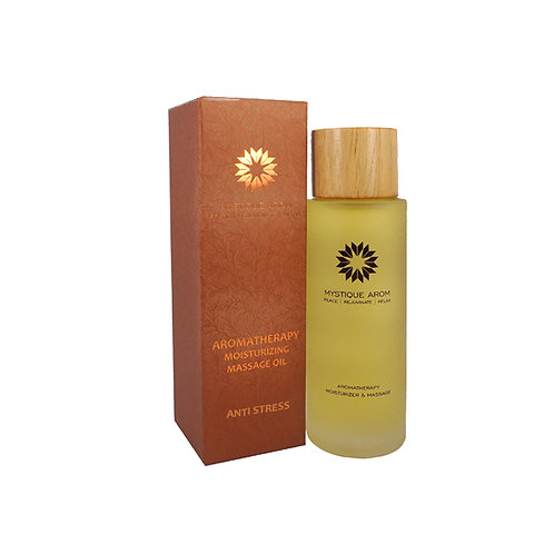 Anti Stress - Premium Aromatherapy Moisturizing Massage Oil   100 ml