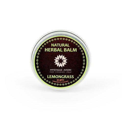Lemongrass - Herbal Solid Balm    35 gm