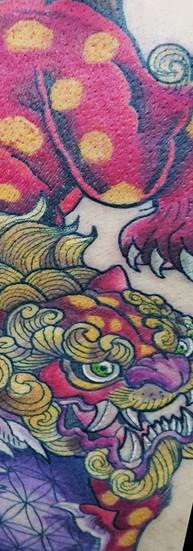 VEZE tatuador mexico guadalajara tatuaje oriental japones
