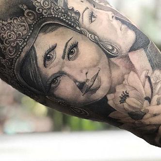 Tatuaje realizada por Melissa Reyes @melis