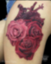 Tatuaje hecho por la artista Melissa Rey