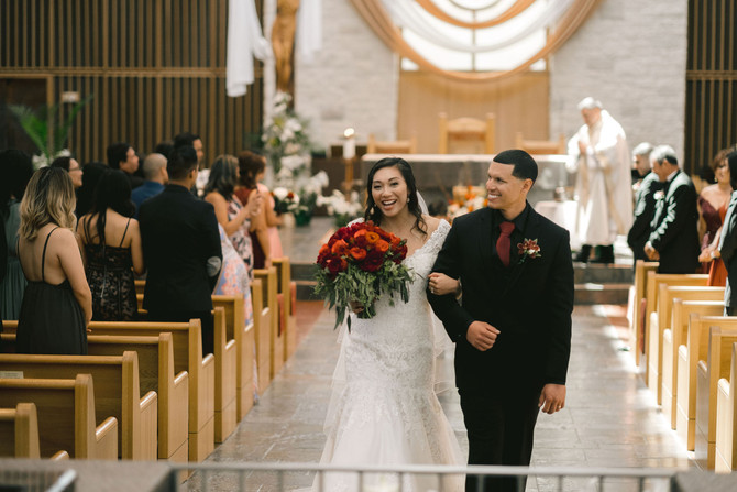Coty + Daniel: A Timeless Wedding At The Grove