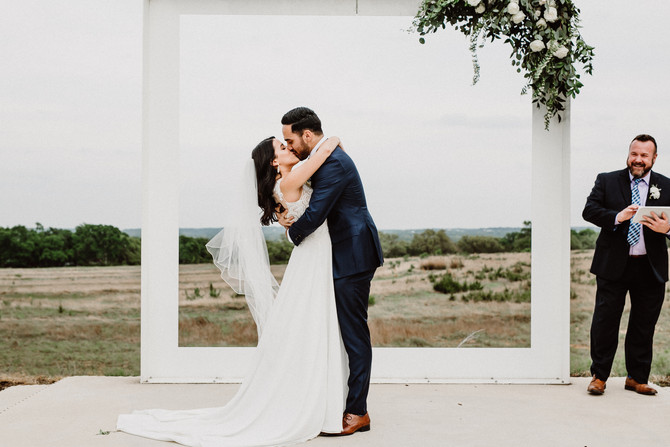 Jillian+Joshua: A Modern Simple Wedding