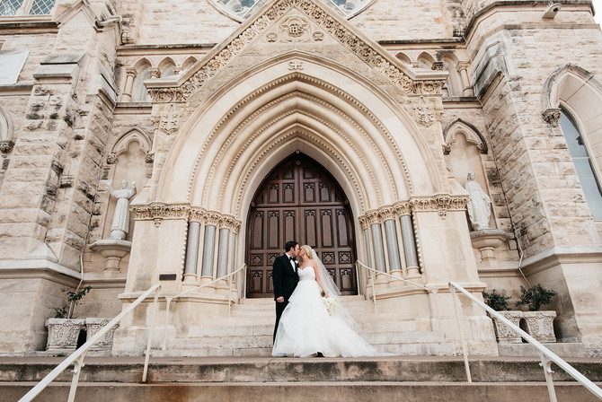 Ashley and Paul: Rustic Glam at Brazos Hall