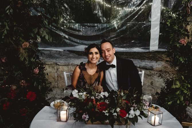 Saba + Elias: A Midnight Circus Wedding