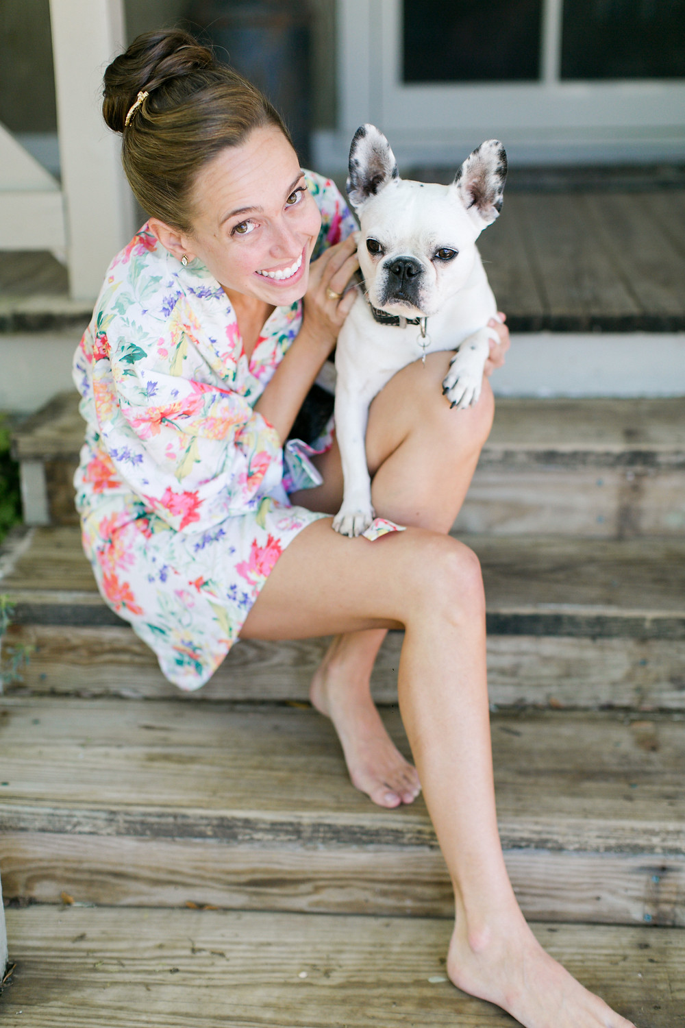 Eclipse Event Co, Mekina Saylor Photo, Floral Robe French Bulldog