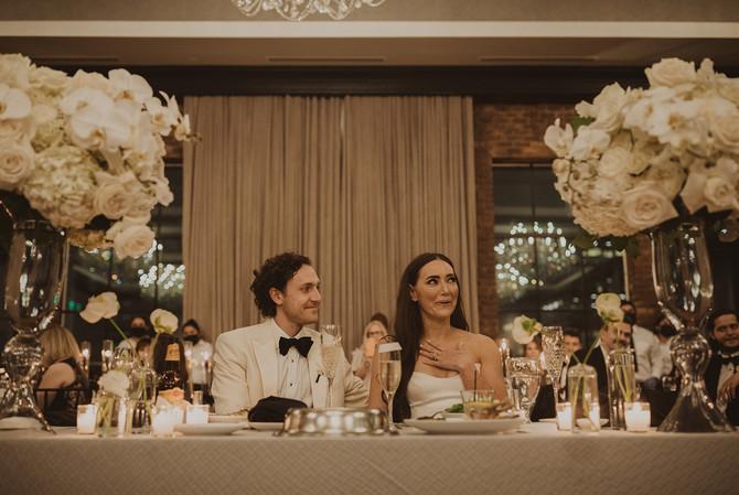 Vogue Inspired Wedding at Hotel ZaZa