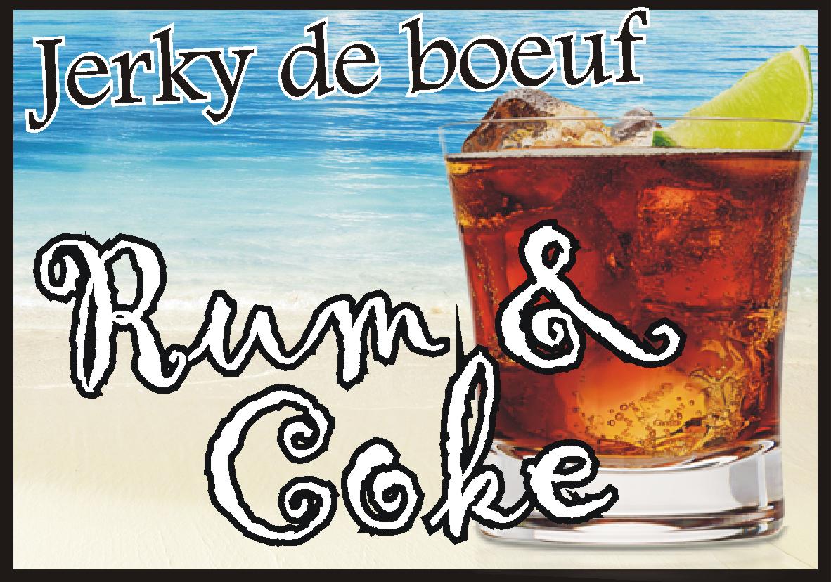 Jerky Rum & Coke