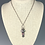 Thumbnail: Trio of Tourmalines Charm Necklace, Payment, Reserved for Connie