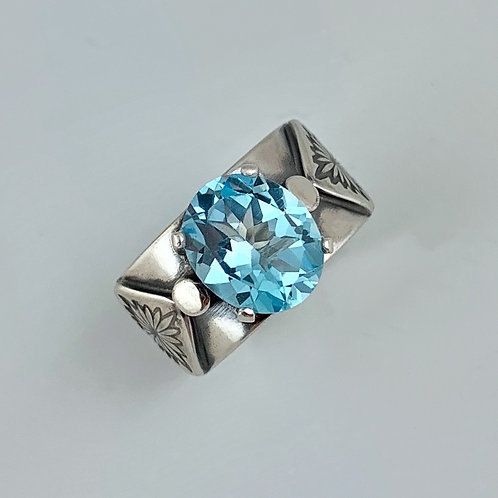 Sky Blue Topaz Harlow Ring
