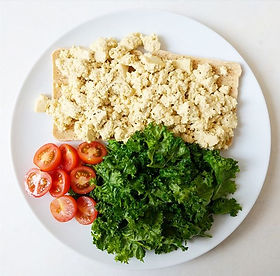 Low FODMAP Tofu Scramble