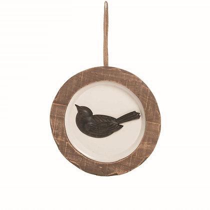 Bird Plate Wall Art