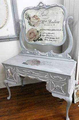 Paris Gray Vanity