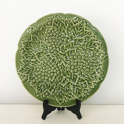Green Grapes Plate