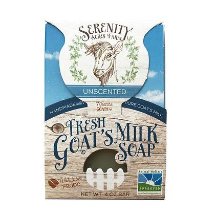Serenity Acres Farm Goat's Milk Soap - Unscented