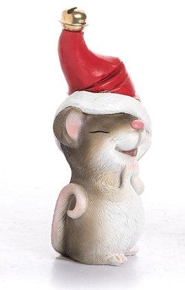 Resin Santa Hat Mouse