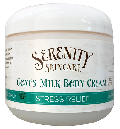 Serenity Skincare Goat's Milk Body Cream -Stress Relief