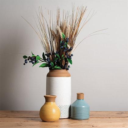 Crackle Bud Vase