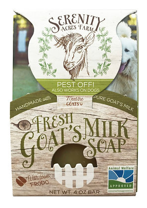 Serenity Acres Farm Goat's Milk Shampoo Bar - Pest Off!