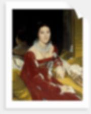 Portrait of Madame de Senonnes Jean Auguste Dominique Ingres